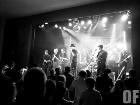 Deine Mutter live beim Rock'n'Roll lives in Fürth