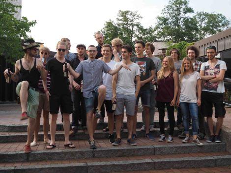 Deine Mutter, Mister Ruffy And His Band, Trip Down Memory Lane (c) Johanna Popp