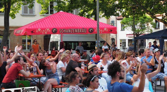 Geknipst: Sound Of Erlangen-Bühne am Tag der Franken