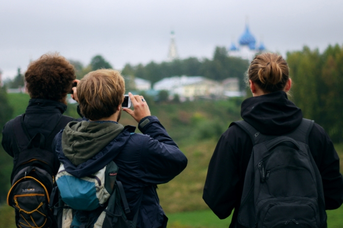 Sightseeing in Suzdal