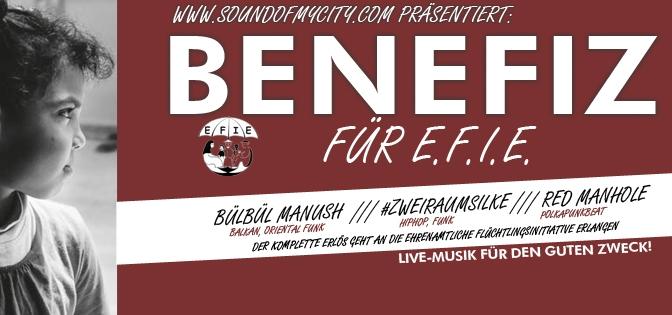 Benefiz für E.F.I.E.
