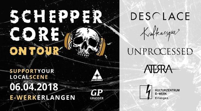 Scheppercore // 06.04.2018 // E-Werk Erlangen