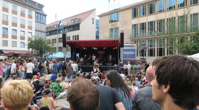 MUZ-Bühne beim Bardentreffen
